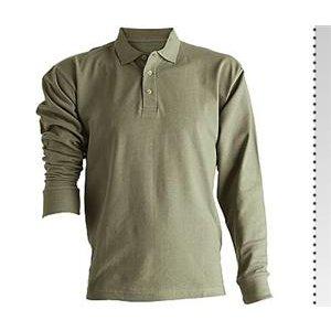 Lacost Polo Yaka Uzun Kol Sweatshirt